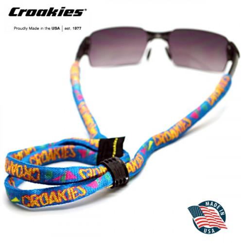 สายคล้องแว่นตา Croakies รุ่น Print Suiters 40th Croakies Geo