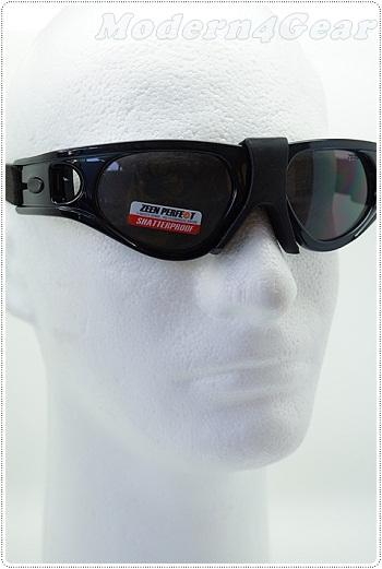 แว่นตากันกระแทกสำหรับเล่นกีฬาเลนส์ดำ  ( Protective Sports Eyewear )