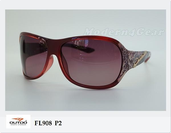 แว่นกันแดด OUTDO Polarized  รุ่น FL908 P2