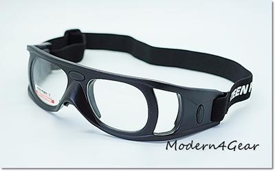 แว่นตากันกระแทกสำหรับเล่นกีฬาเลนส์ใส no.90730( Protective Sports Eyewear )