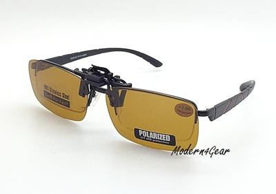 Sport Yellow Lens Clip on รุ่น K03 (แบบเปิด-ปิด)