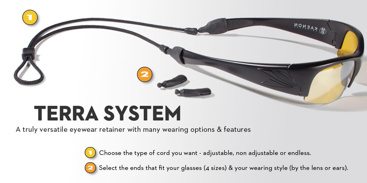 สายคล้องแว่น Croakies รุ่น Terra System Combo