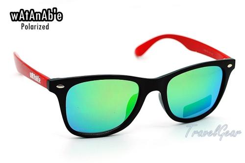 แว่นกันแดด WaTaNaBe เลนส์ Polarized Revo เคลือบปรอทเขียว 2208RG