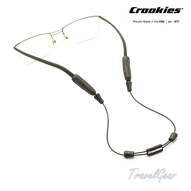 สายคล้องแว่นตา Croakies รุ่น ARC Endless 16quot; XL/XXL Black