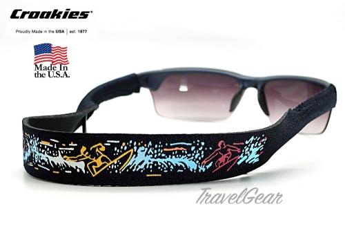 สายคล้องแว่นตา Croakies XL Print รุ่น Beach Surf