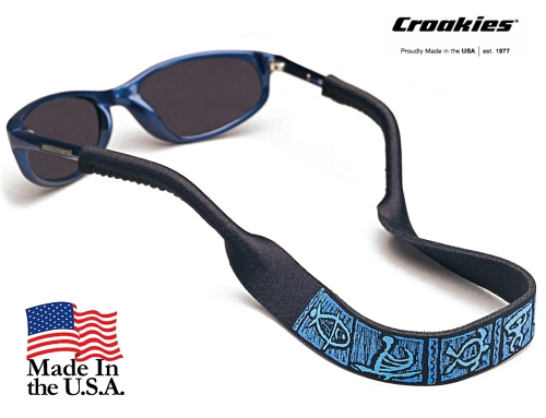 สายคล้องแว่นตา Croakies XL Print รุ่น Petroglyph