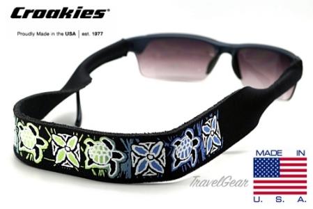สายคล้องแว่นตา Croakies XL Print รุ่น Turtle
