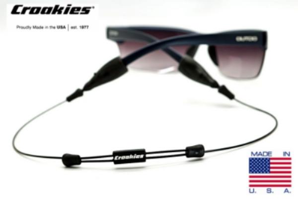สายคล้องแว่น Croakies รุ่น ARC Endless สีดำ 18quot; XL/XXL