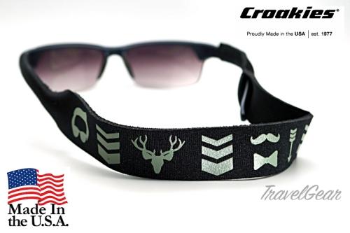 สายคล้องแว่นตา Croakies XL รุ่น Hipster