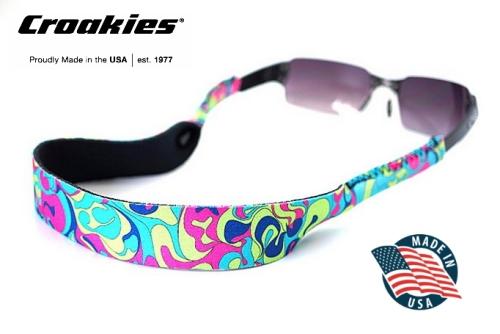 สายคล้องแว่นตา Croakies XL Print รุ่น Sublimated Lichen Hothouse HT