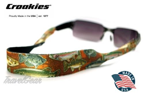 สายคล้องแว่นตา Croakies XL Print รุ่น Sport Brown