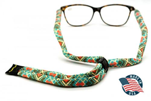 สายคล้องแว่นตา Croakies รุ่น Print Suiters XL Poly Mesa
