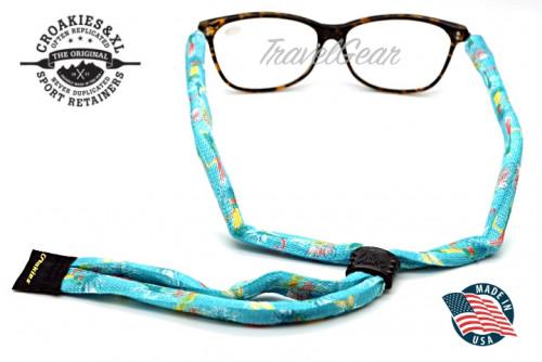 สายคล้องแว่นตา Croakies รุ่น Print Suiters XL Poly Dry Fly