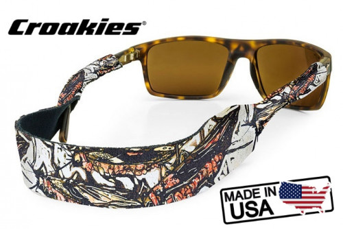 สายคล้องแว่นตา Croakies XL Print รุ่น Sub Abby Paffrath Salmon Fly