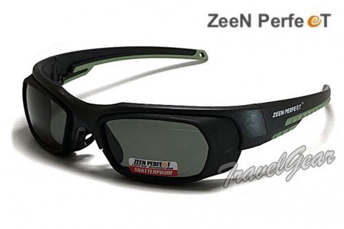 แว่นเล่นกีฬาตัดเลนส์สายตาได้ ZEEN PERFECT รุ่น ZP1001B ( เลนส์ดำ )