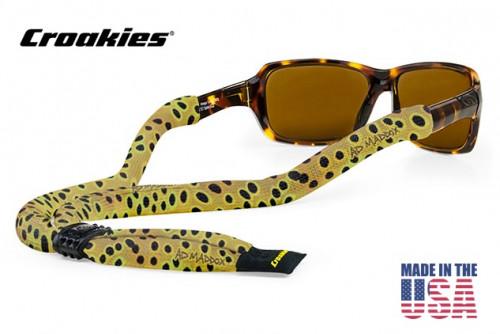 สายคล้องแว่นตาCroakies รุ่น Poly Suiter XL A.D. Maddox Cutthroat