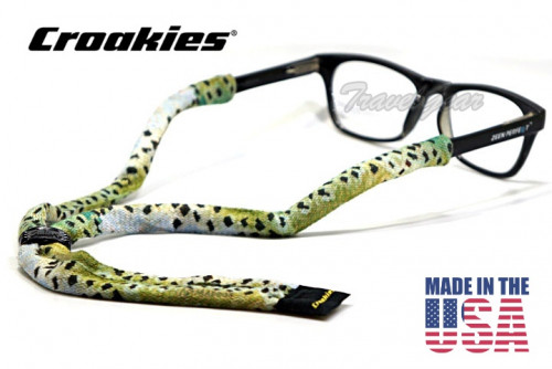 สายคล้องแว่นตา Croakies รุ่น Poly Suiter XL A.D. Maddox Rainbow