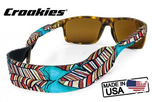 สายคล้องแว่นตา Croakies XL Print รุ่น Sub Abby Paffrath Red Quill