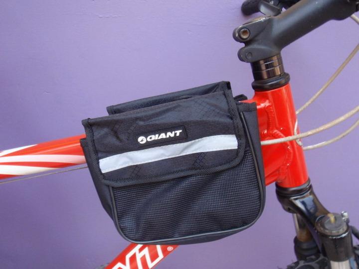 กระเป๋าแขวนที่เฟรมจักรยาน