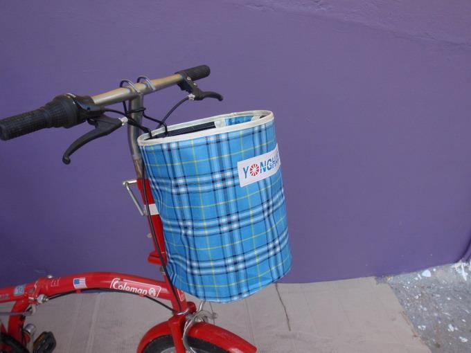 กระเป๋าผ้าสำหรับแขวนแฮนด์จักรยาน