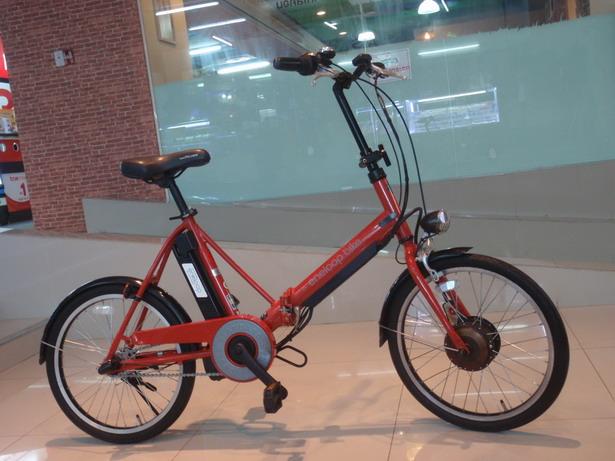 จักรยานพับไฟฟ้า Sanyo Eneloop
