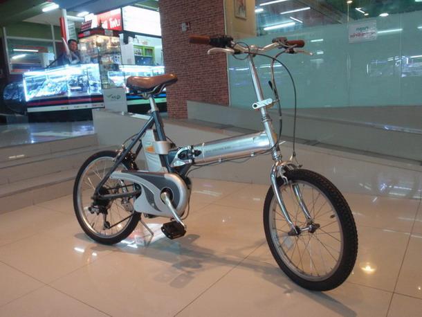 จักรยานพับไฟฟฟ้า Panasonic Will
