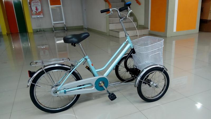 จักรยาน3ล้อ อย่างสวย จากญี่ปุ่น ปั่นง่ายไม่คว่ำ Tsunoda