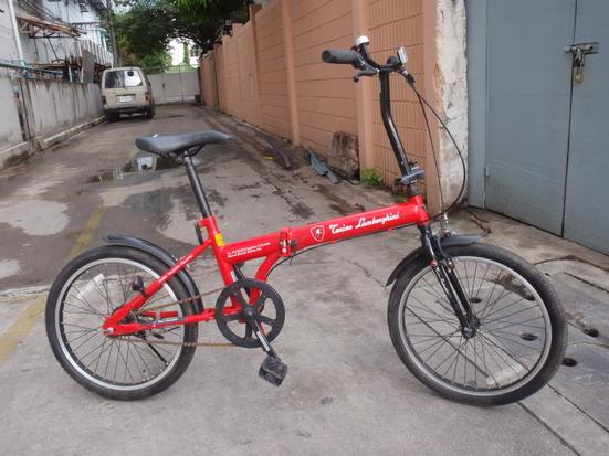 จักรยาน พับได้ แลมโบกินี่ 20 นี้ว