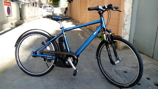 จักรยานเสือภูเขาไฟฟ้า 8 เกียร์ บริดสโตน