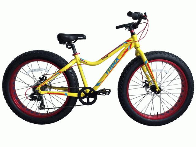 จักรยานล้อโต TRINX M516D ล้อ 26 นิ้ว เกียร์ 7 สปีด เฟรมอลูมิเนียม