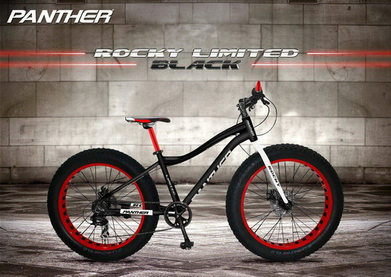 จักรยานแฟตไบค์ Panther 4.9 Rocky รุ่นพิเศษ limited