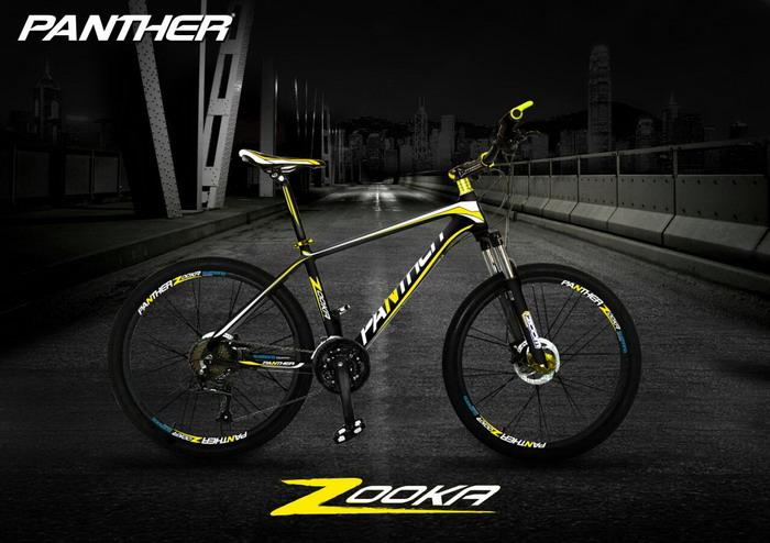จักรยานเสือภูเขา Panther รุ่น Zooka อัลลอยด์ 24สปีด