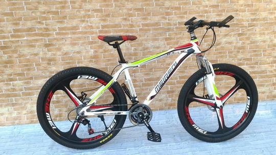 จักรยาน เสือภูเขา ล้อแม็ก เฟรมอลู  MEIREDI