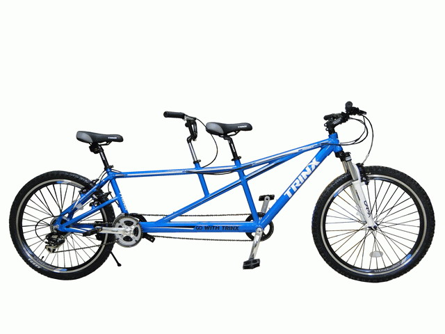 จักรยานสองตอน TRINX  M286V ล้อ 26 นิ้ว เกียร์ 21 สปีด เฟรมอลูมิเนียม