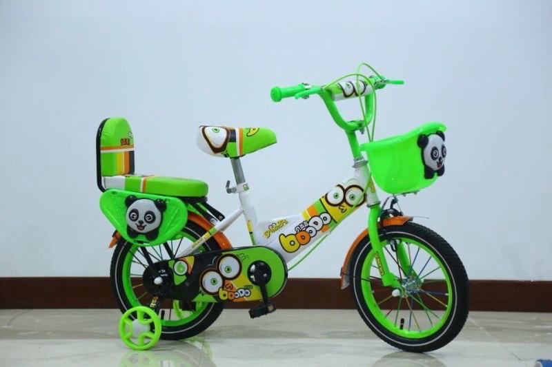 จักรยาน เด็กล้อพ่วง ลายหมีแพนด้า สีสันสดใส สวย สดุดตา รุ่นECO-52
