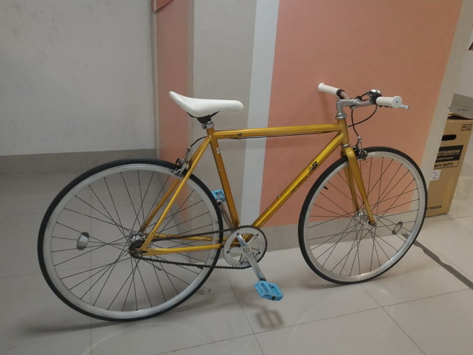 จักรยาน ฟิกซ์เกียร์ มือสอง ญี่ปุ่น NEW BALANCE