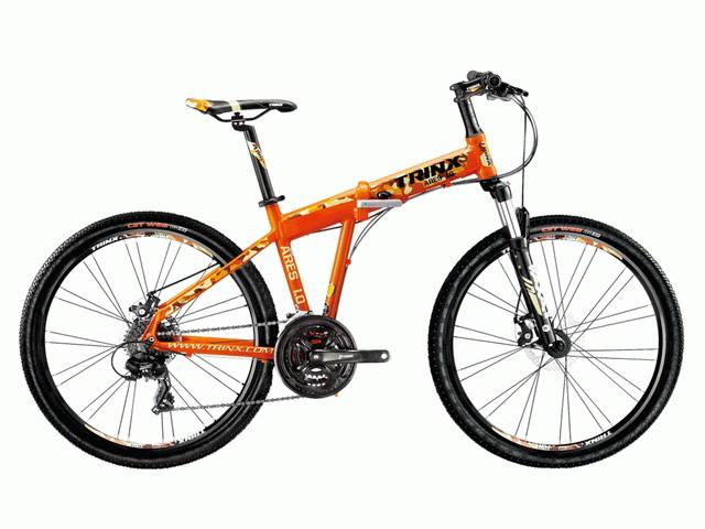 จักรยานเสือภูเขาพับได้ TRINX TRINXARES1.0ล้อ 26 นิ้ว เกียร์ 24 สปีด อลูมิเนียม น้ำหนัก 14.0 กก