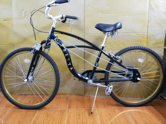 จักรยาน 4 โซ่ ทรงครุยเซอร์ TRETRA