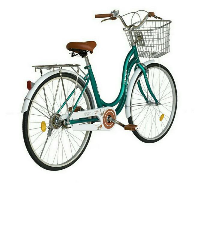 จักรยานแม่บ้าน WCI รุ่น leaf(ลีฟ)