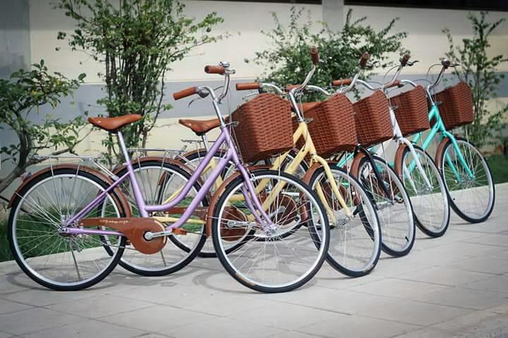 จักรยานแม่บ้านญี่ปุ่นวินเทจ ยี่ห้อ Meadow รุ่น Vintage Retro 2016 1