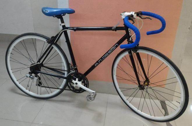 จักรยานเสือหมอบสับถัง AN DESIGN เฟรมโคโมลี่