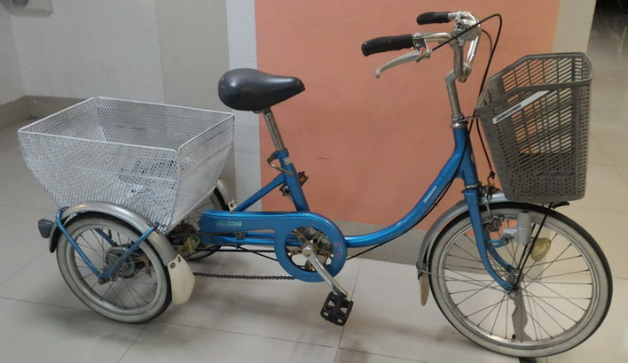 จักรยาน 3 ล้อ มือสอง ญี่ปุ่น คุณภาพดี ยี่ห้อ บริดสโตน โครงสร้างเหล็ก