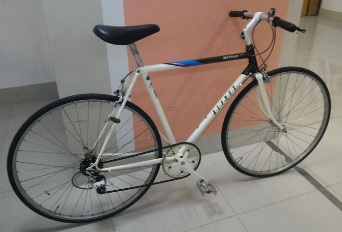 จักรยานทัวร์ริ่ง MIYATA รุ่น alfrex เฟรมอลู ซ่อนสาย