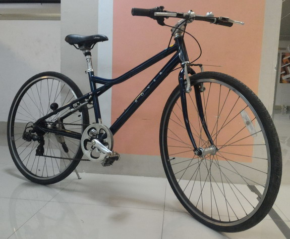 จักรยาน ทัวร์ริ่ง ROVER เฟรมอลู สีน้ำเงินเข้ม