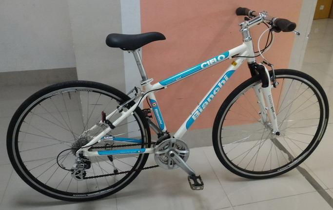 จักรยาน ไฮบริด Bianchi Cielo
