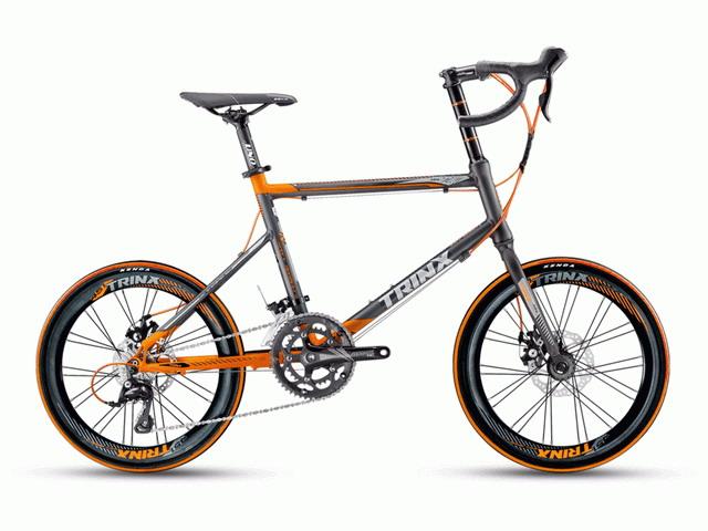 จักรยานเสือหมอบ  MINI TRINX  รุ่น Z7 ล้อ 20 นิ้ว เกียร์ 18 สปีด เฟรมอลูมิเนียม
