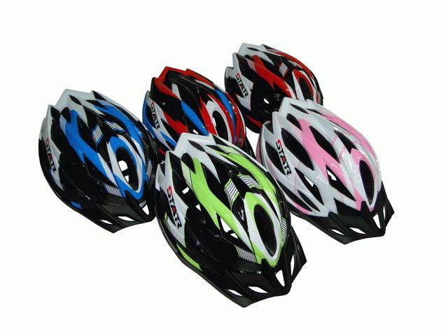 หมวกกันน็อคจักรยาน STARรุ่น 30AS,30AL
