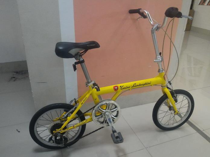 จักรยานพับ แลมโบกินิ วงล้อ16