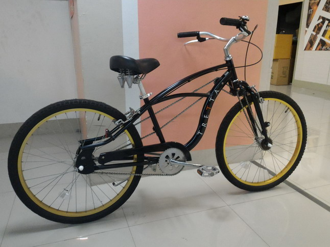 จักรยาน ทรงครุยเซอร์ ขับเคลื่อน 2 ล้อพร้อมกัน  TRETA