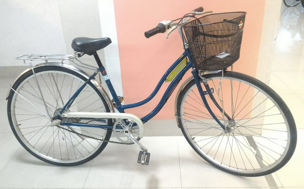 จักรยานแม่บ้าน ทรงคลาสสิค จากญี่ปุ่น ยี่ห้อ Maruishi เกียร์ดุม 3 สปีด